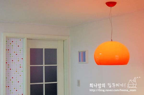 페인팅한 주방~한켠모습! [희나네집]