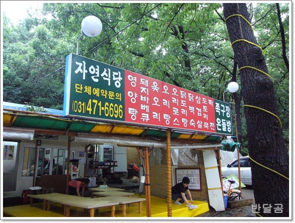 자연식당(안양시/안양유원지/안양예술공원)...닭도리탕과 통돼지 ...